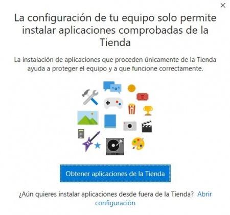 Imagen - Cómo bloquear la instalación de programas que no sean de la tienda de Windows 10