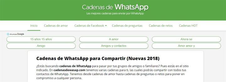 Donde Encontrar Cadenas De Whatsapp