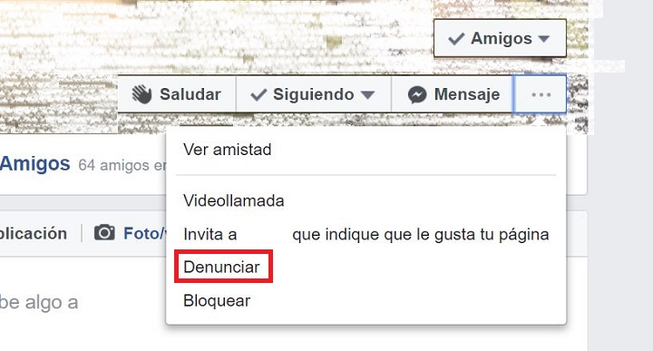Imagen - Cómo denunciar a alguien en Facebook