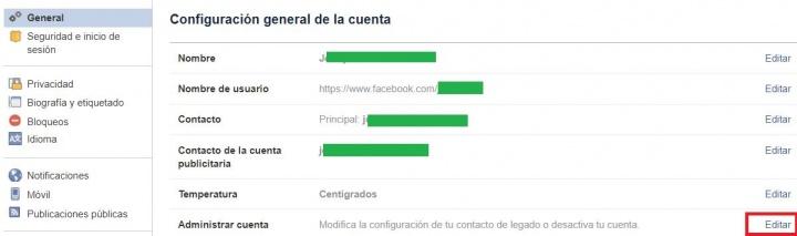 Imagen - ¿Es lo mismo eliminar la cuenta de Facebook que desactivarla?