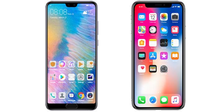 Huawei P20 Pro vs iPhone X: comparativa