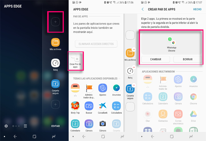 Imagen - Cómo lanzar dos apps a la vez en multi-windows con el Samsung Galaxy S9