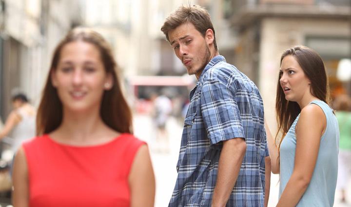"""Imagen - ¿Qué es el meme """"Distracted boyfriend""""?"""