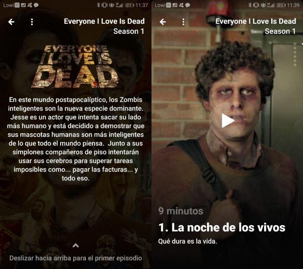 Imagen - Blackpills, una app para ver series y programas de televisión gratis