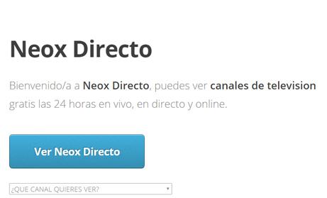 Imagen - Cómo ver Neox online