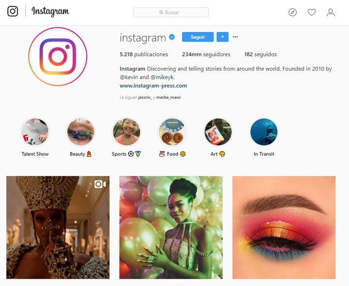 Imagen - Las 10 cuentas con más seguidores en Instagram