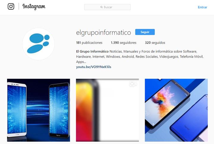 Imagen - Cómo entrar a Instagram sin cuenta