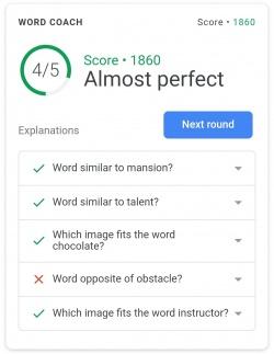 Imagen - Word Coach, el buscador de Google te ayuda a aprender inglés
