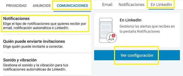 Imagen - Cómo desactivar las notificaciones de cumpleaños en LinkedIn