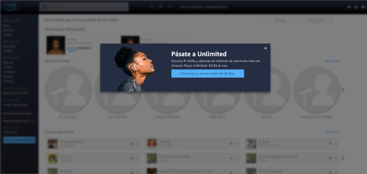 Imagen - Amazon Prime Music, ¿tiene límites de canciones o tiempo?