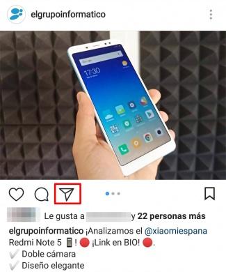 Imagen - Cómo enviar una imagen de Instagram a Stories