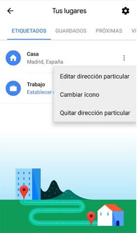 Imagen - Cómo configurar tu lugar de trabajo y casa en Google Maps