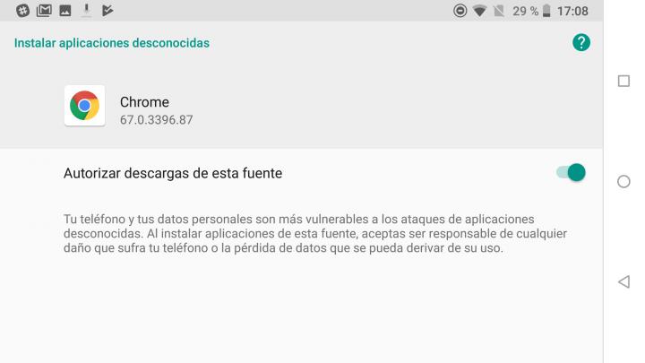 """Imagen - Cómo instalar un APK externo en Android 8 Oreo: """"orígenes desconocidos"""" ya no existe"""