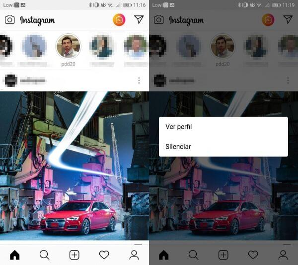 Imagen - Cómo silenciar los Stories de un contacto en Instagram