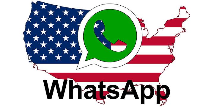 ¿Es WhatsApp popular en Estados Unidos?