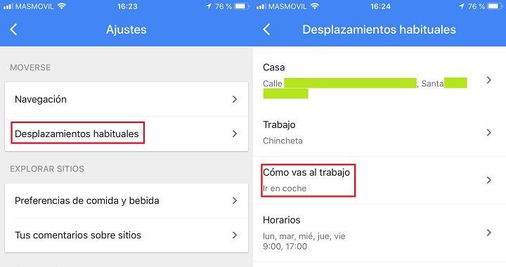 Imagen - Cómo indicarle a Google Maps el medio de transporte que usas