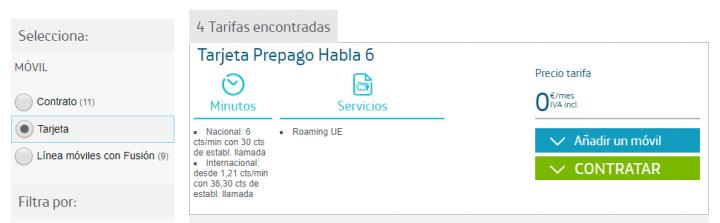 Imagen - 7 tarifas móviles por 0 euros