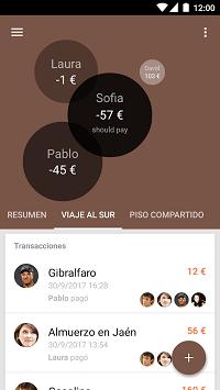 Imagen - Settle Up, la app para compartir gastos de piso, viajes y más