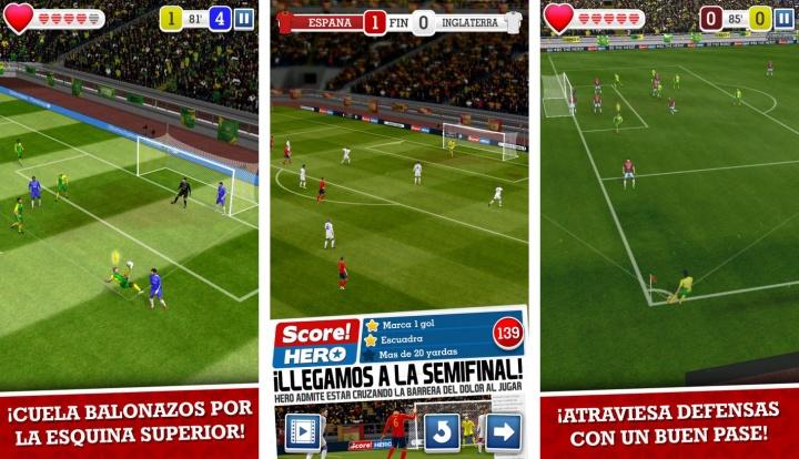 Imagen - Score! Hero, el juego de fútbol en 3D para móviles
