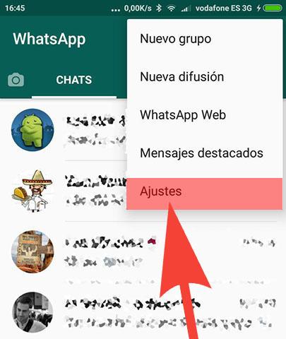 Imagen - Cómo saber con quién hablas más por WhatsApp