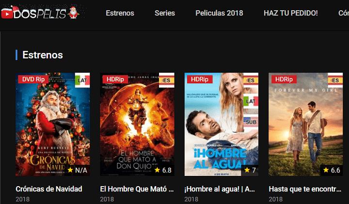 Imagen - Dospelis, otra web para ver los útimos estrenos de películas online gratis