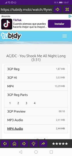 Imagen - JRY Free Download, el navegador para descargar música gratis en Android