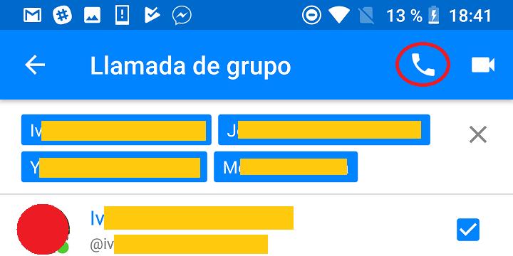 Imagen - Cómo hacer una llamada grupal en Android