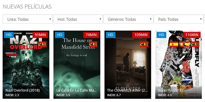 Imagen - Pelis123, una web para ver películas online gratis