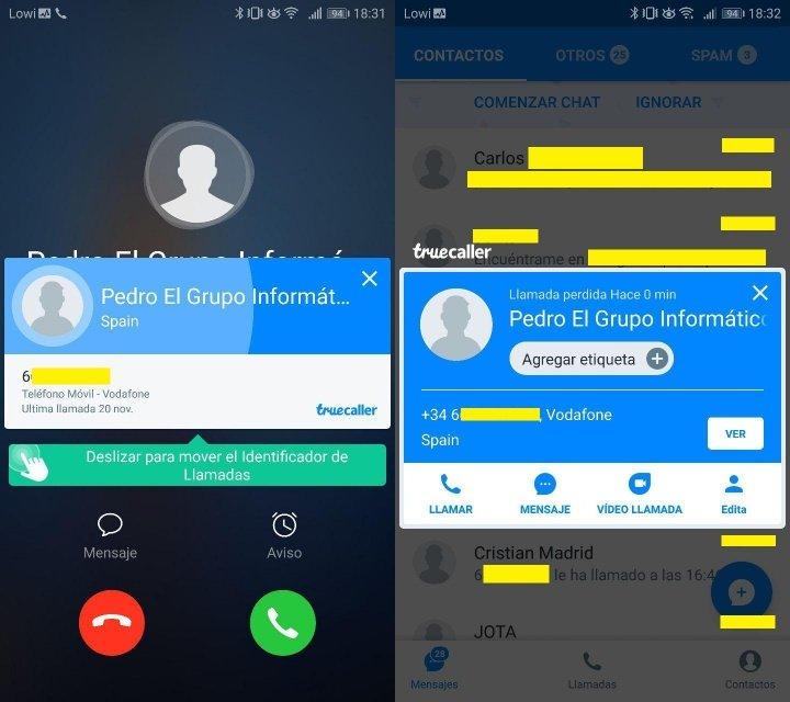 Imagen - Descarga Truecaller, identifica y bloquea llamadas
