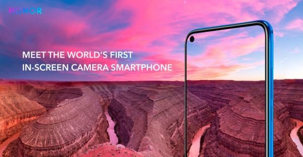 """Imagen - Honor View 20 es oficial: cámara de 48 megapíxeles y """"agujero"""" en lugar del notch"""