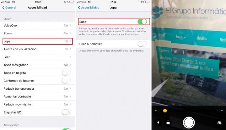 Imagen - Cómo usar tu smartphone como una lupa