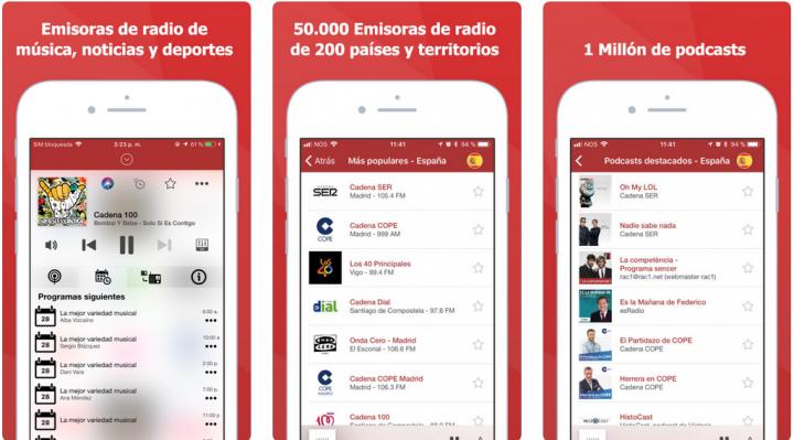 Imagen - myTuner Radio España, escucha la radio en tu móvil