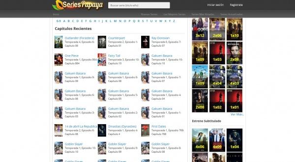 Imagen - SeriesPapaya, una web para ver series online gratis en HD