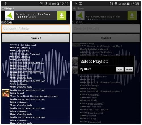 Imagen - Descarga XMPlayer, un completo reproductor para tu móvil