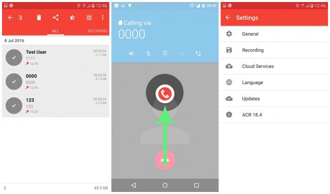 Imagen - Grabación de la llamada - ACR, una app para grabar llamadas en Android