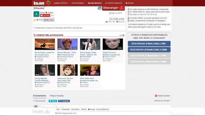 Imagen - Bajaryoutube, descarga música de YouTube fácilmente