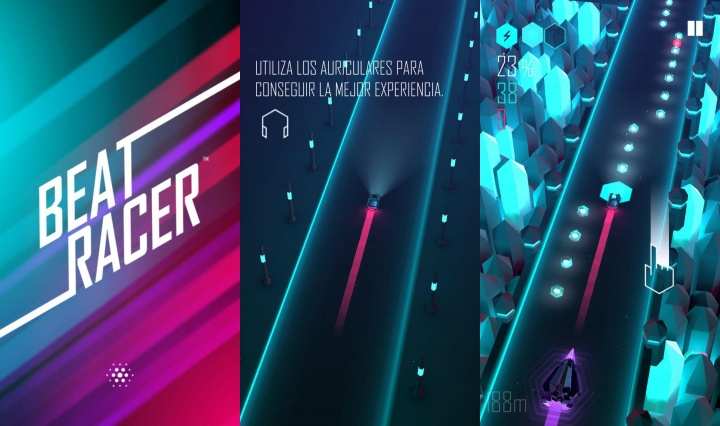 Imagen - Descarga Beat Racer, emprende un viaje hacia el increíble mundo del ritmo