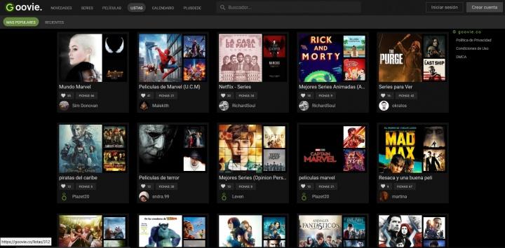 Imagen - Goovie, otra web que permite ver películas y series online