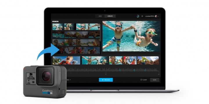 Imagen - Quik, descarga el editor de vídeo de GoPro para fotos y clips