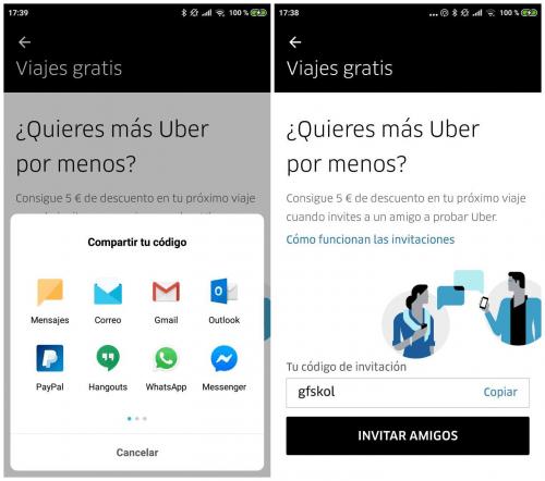 Imagen - Cómo conseguir descuentos para Uber