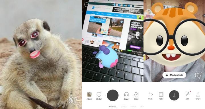 Imagen - B612, una app de filtros en tiempo real