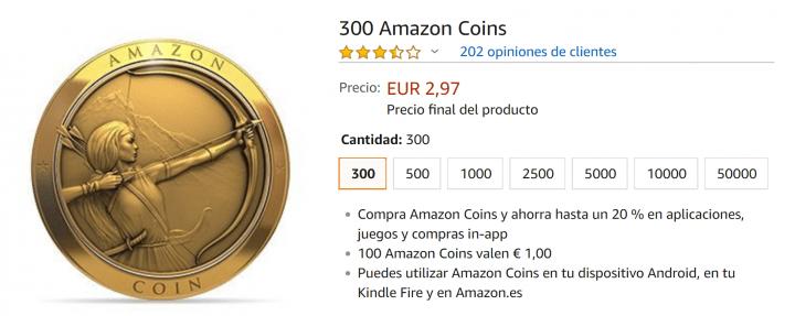 Imagen - ¿Qué es Amazon Coins?
