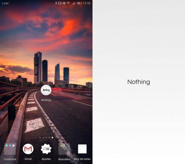 Imagen - Nothing, la app que no hace nada