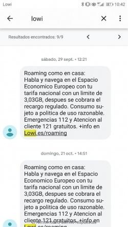 Imagen - Cómo activar el roaming en Lowi