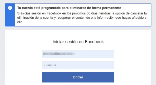 Imagen - Cómo eliminar tu cuenta de Facebook