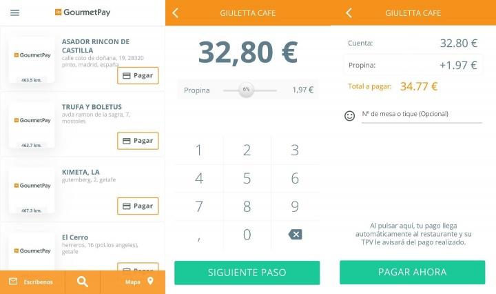Imagen - GourmetPay, la app para pagar la cuenta del restaurante desde el móvil