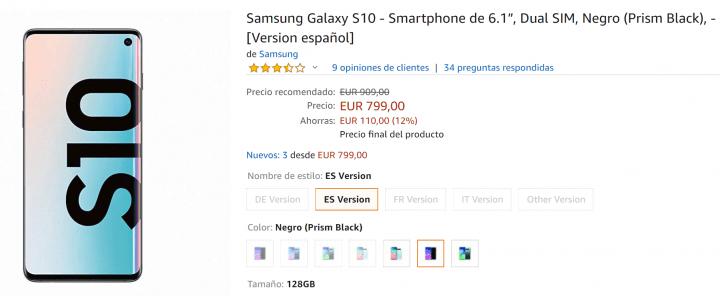 Imagen - Dónde comprar el Samsung Galaxy S10 online