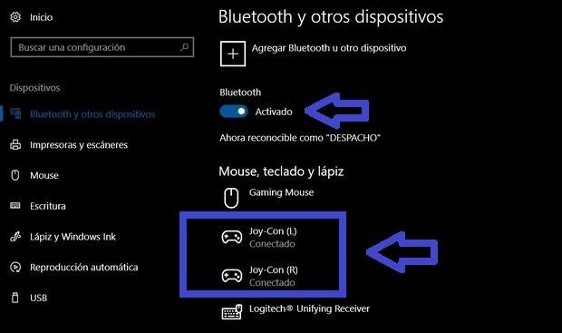 Imagen - Cómo usar el mando de Nintendo Switch en PC