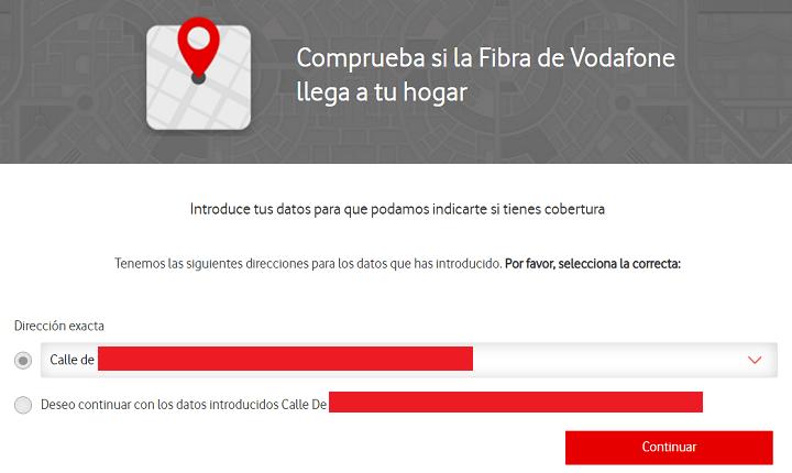 Imagen - Cómo comprobar la cobertura de fibra óptica de Vodafone
