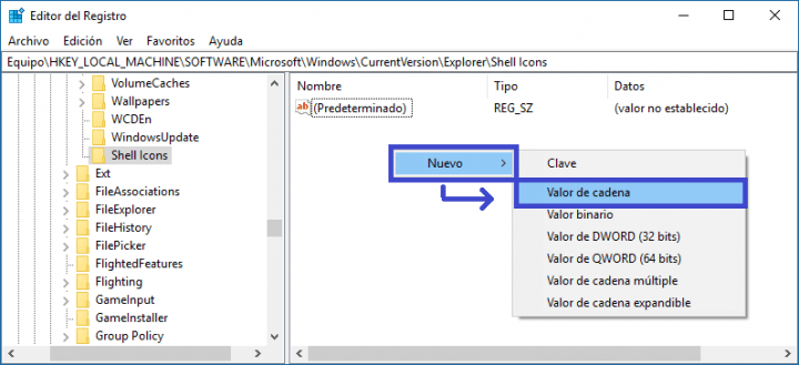 Imagen - ¿Qué son las dos flechas azules en las carpetas y archivos en Windows?